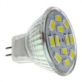 6W GU4(MR11) LED Spotlight MR11 12 SMD 5730 570 lm Natural White DC 12 V