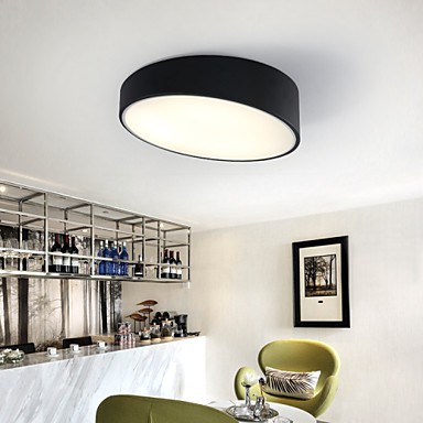 Contemporary And Contracted Creative Personality Cylindrical, Wrought Iron Dome Light Lamp Led