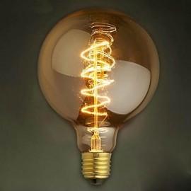 G125 wire around 40W bulb edison bulbs Bar Pearl tungsten bulb Edison light bulb retro decoration