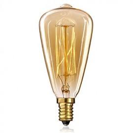 ST48 E14 220 V Edison Bulbs Yellow Light The Little Screw Base Vintage Chandelier Decoration Light