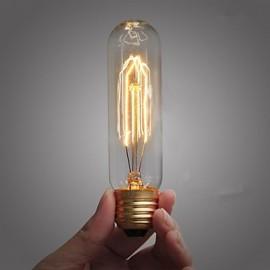 T10 25W 110V-240V Tube Edison Retro Decorative Light Bulbs