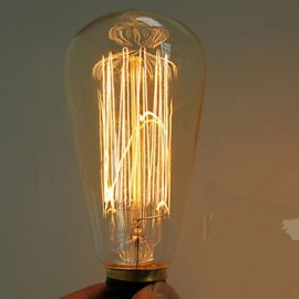 40W E27 Edison retro light bulb ST64 (220-240V)