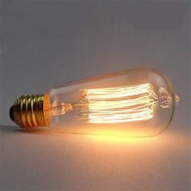ST58 40W E27 Vintage Retro Incandescent Filament Edison Lamp Bulb(AC220-240V)