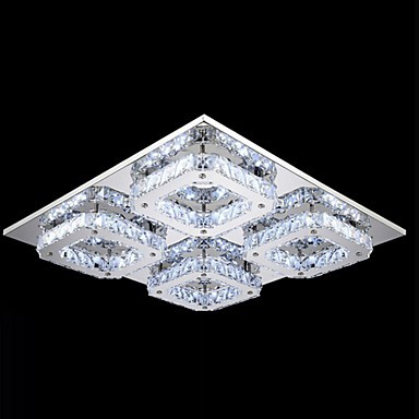 32W Modern/Contemporary LED / Bulb Included Electroplated Metal Flush Mount Bedroom