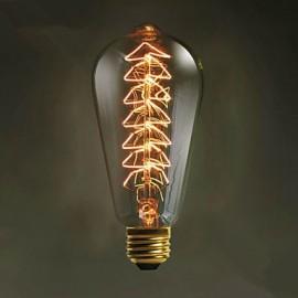 E27 40W ST64 Christmas Tree Creative Edison Light Source