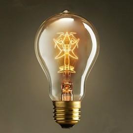 A19 Pentagram 220V-240V 40W Edison Bulbs Mainstream European And American Vintage Coffee Light Bulbs