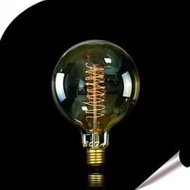G125 13AK 25W Antique Edison Silk ball Bubble Lamp(85V-265V)
