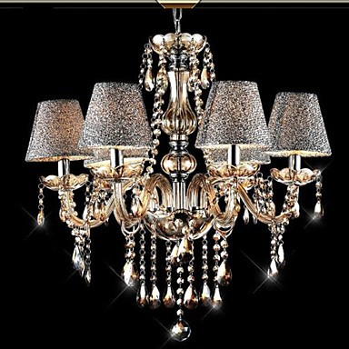 40W Modern/Contemporary/Classic/Vintage Crystal Electroplated Glass Chandeliers