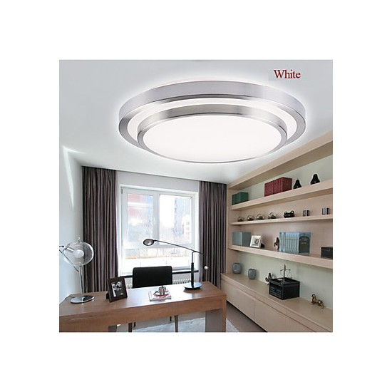 Flush Mount Lights LED 18W Bathroom Kitchen Light Round