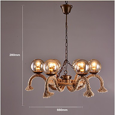 Chandeliers Mini Style Tiffany / Vintage Living Room / Dining Room / Kitchen / Study Room/Office / Game Room Metal