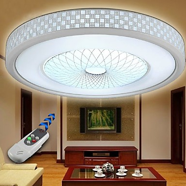 Modern/Contemporary LED Electroplated Metal Flush Mount Living Room / Bedroom / Dining Room