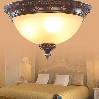 33*20CM Europe Type Style Rural Classical Absorb Dome Light LED Lamp