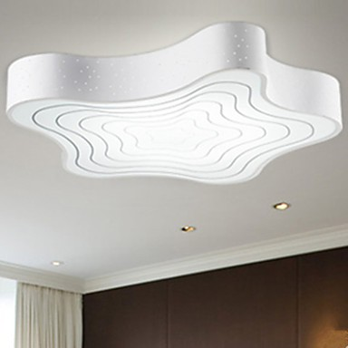 Modern/Contemporary LED Painting Metal Flush Mount Living Room / Bedroom / Dining Room / Study Room/Office / Kids Room / Hallway