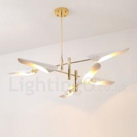 3 Tier Modern/ Contemporary 6 Light Chandelier for Living Room, Dining Room, Study Room/Office