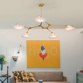 5 Light Modern/ Contemporary Chandelier Lamp for Living Room, Dining Room, Study Room/Office