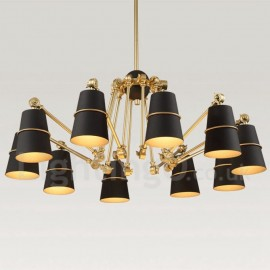10 Light Chandelier Lamp with Modern/ Contemporary Style for Living Room, Dining Room, Bedroom Light