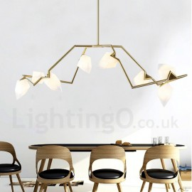 Modern/ Contemporary 8 Light Chandelier Lamp for Living Room Dining Room Bedroom LED Light