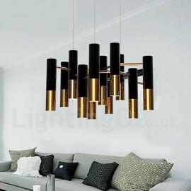 Modern/ Contemporary 13 Light Chandelier Single Tier Lamp for Living Room Dining Room Bedroom Light