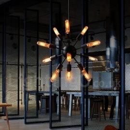12 Light Dining Room Retro Vintage Sputnik Chandelier