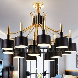 15 Light 2-Tier Modern/ Contemporary Style Chandelier Lamp for Dining Room, Living Room Light