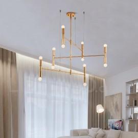 8 Light 3-Tier Modern/ Contemporary Chandelier Lamp for Living Room, Dining Room LED Light