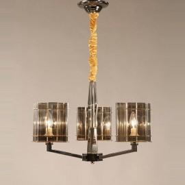 3 Light Modern/ Contemporary Single Tier Chandelier Light for Living Room, Bedroom, Dining Room Lamp