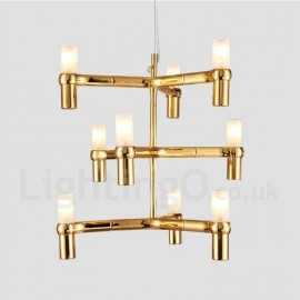 9 Light 3 Tier Modern/ Contemporary Chandelier Lamp for Living Room Dining Room Light