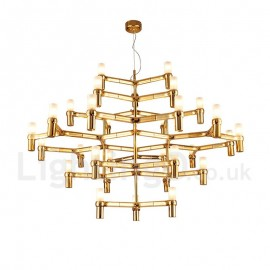 30 Light 5 Tier Modern/ Contemporary Chandelier Lamp for Living Room Dining Room Light