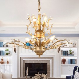 60CM Height 45CM Wide Modern/ Contemporary 7 Light Chandelier Lamp for Living Room, Dining Room Light