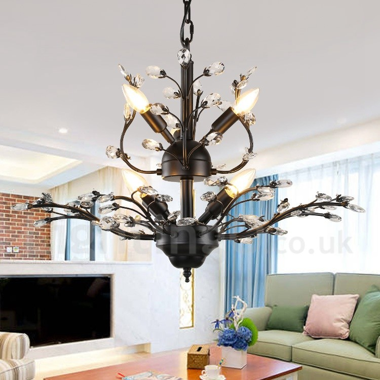 60CM Height 45CM Wide Modern/ Contemporary 7 Light