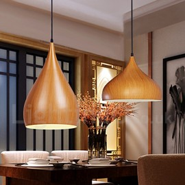 1 Light Traditional / Classic Dining Room Pendant Light for Living Room Study Room/Office Lamp