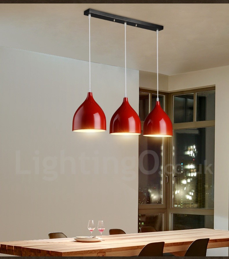 Modern/ Contemporary Dining Room 1 Light Pendant Light For