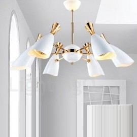 Modern/ Contemporary Dining Room 6 Light Chandeliers for Living Room, Bedroom Lamp