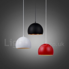 1 Light Modern/ Contemporary Pendant Light for Dining Room Living Room Bedroom