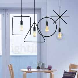 Modern/ Contemporary Metal 1 Light Pendant Light for Bedroom Dining Room
