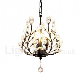 Country Dining Room Bedroom LED Pendant Light for Living Room Lamp