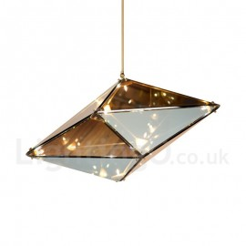 Modern/ Contemporary Glass Shade Bedroom Dining Room Pendant Light