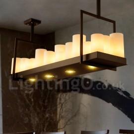 Rustic / Lodge Vintage Living Room Candlestick Dining Room LED Pendant Light