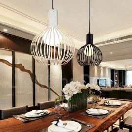 Modern/ Contemporary LED Dining Room Metal 1 Light Globe Pendant Light