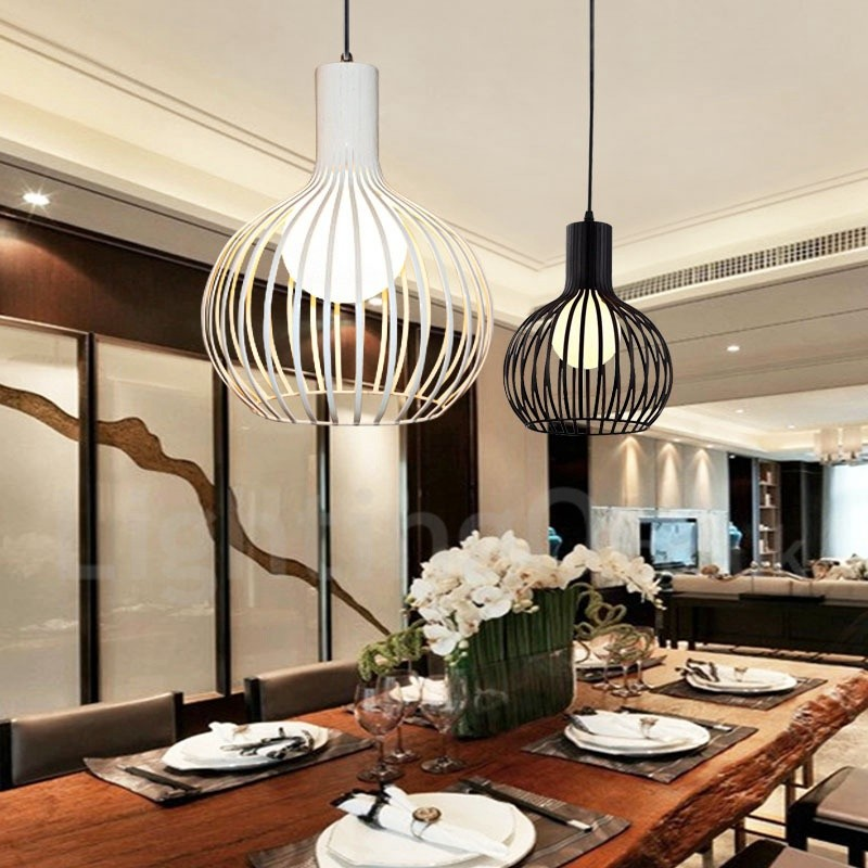 Modern Contemporary Led Dining Room Metal 1 Light Globe
