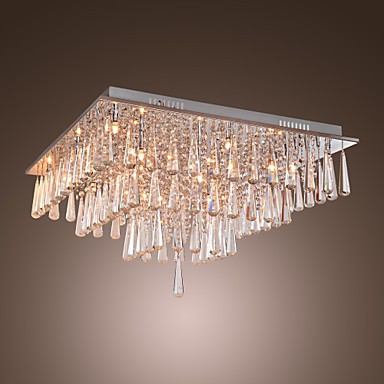 Max 20W Modern/Contemporary Crystal Others Flush Mount Living Room / Bedroom / Dining Room