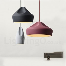 Modern/ Contemporary Dining Room Living Room Bedroom Multi Colors Pendant Light for Study Room/Office Lamp