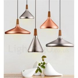 Modern/ Contemporary Metal 1 Light Pendant Light for Dining Room Living Room Bedroom Lamp