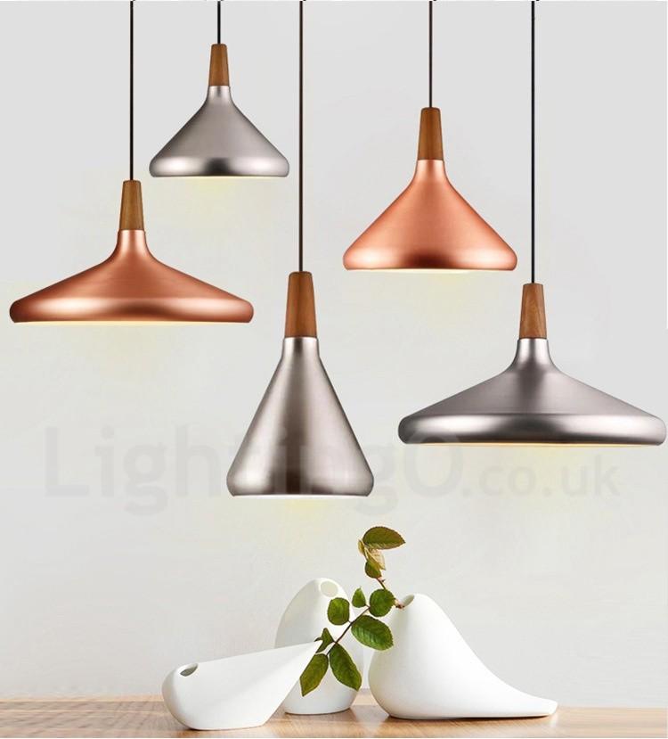 Modern Contemporary Metal 1 Light Pendant Light For Dining Room Living Room Bedroom Lamp