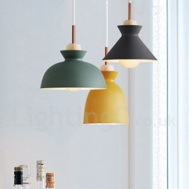Modern/ Contemporary Bedroom Metal Dining Room Multi Colors Pendant Light