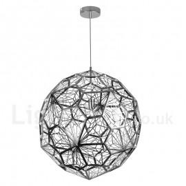 Modern/ Contemporary 1 Light Globe Pendant Light for Living Room Bedroom Dining Room Lamp