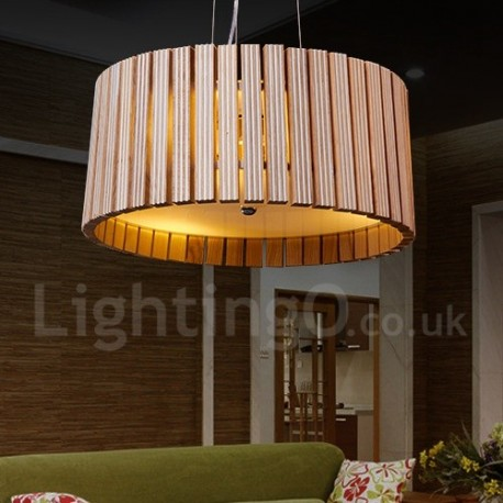 fabulous drum pendant light fixtures living room | Modern/ Contemporary Living Room Bedroom Dining Room Wood ...