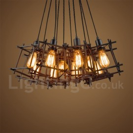 Retro / Vintage Bar Dining Room Metal Pendant Light