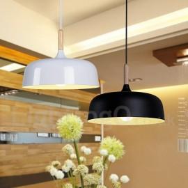 Modern/ Contemporary Dining Room Living Room Wood Metal Pendant Light