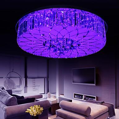 Flush Mount Crystal / LED Modern/Contemporary Living Room / Bedroom / Dining Room Metal